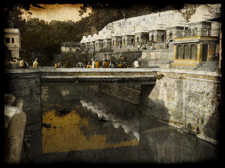 Храм Пашупатинатх. Непал 2008 - Катманду, Пашупатинатх, Покхара, Боднатх, Горкха © Kartzon Dream - авторские путешествия