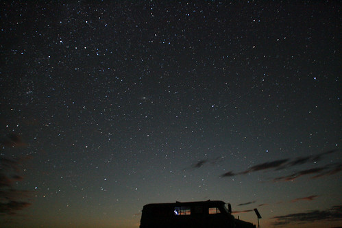 Noche en el Gobi - Foto de Makoto