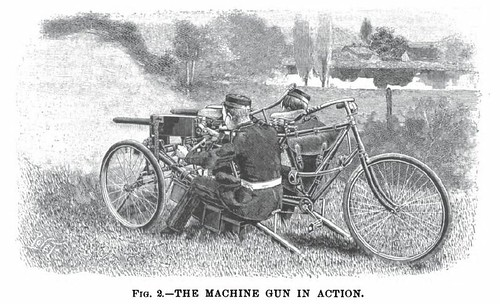 Maxim Gun & Tricycle (1901)