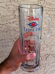 Disney Cruise Line Beer Mug (Scott Sanders [ssanders79]) Tags: cruise beer glass logo wave disney line mug stein dcl 22oz