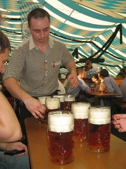 Munich - Steins from a Beer Festival