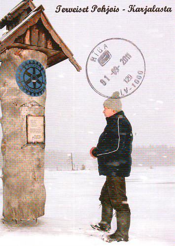 Pastkarte no Somijas