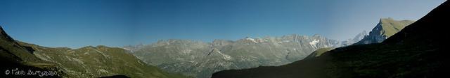 Dall'Alpe Champsec, 2335 m s.l.m.