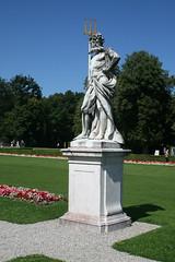 Neptun Statue - Schlosspark Nymphenburg