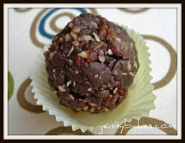 Double Chocolate Oatmeal Balls