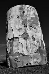 Vessel in the desert (A Richie) Tags: arizona abstract blackwhite desert az saltriver mesa