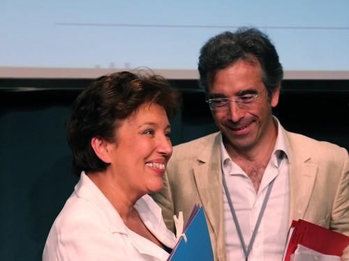 Roselyne Bachelot et Dominique Reynié