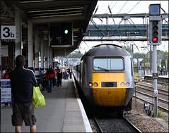 43296 Doncaster (Thrash Merchant) Tags: railroad travel train canon publictransit carriage diesel tracks engine rail loco trains transportation locomotive publictransport railways eastcoast mtu doncaster southyorkshire hst railtrack highspeedtrain class43 intercity125 ic125 eos450d 43296 powercar doncasterstation southyorkshirerailway tamron18270 eastcoasttrains eastcoasthst eastcoastclass43 doncastertrains southyorkshiretrains hst43296 43296hst
