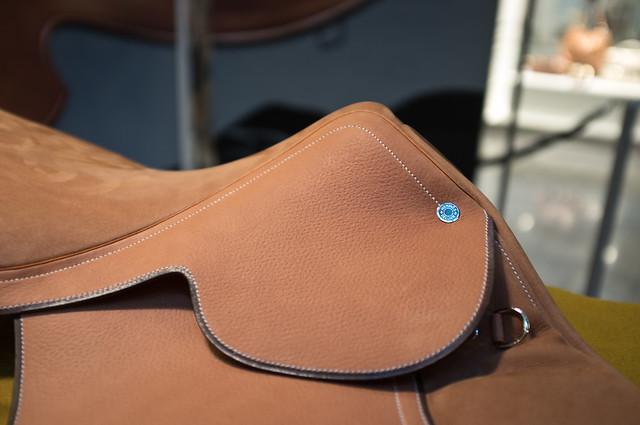 Hermès Leather saddle