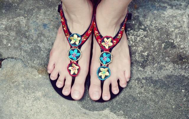 Sandal cho tháng Chín