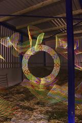 Solfest Shed (- Hob -) Tags: longexposure lightpainting raw 2011 singleexposure solfest citylites lightjunkies solfest2011