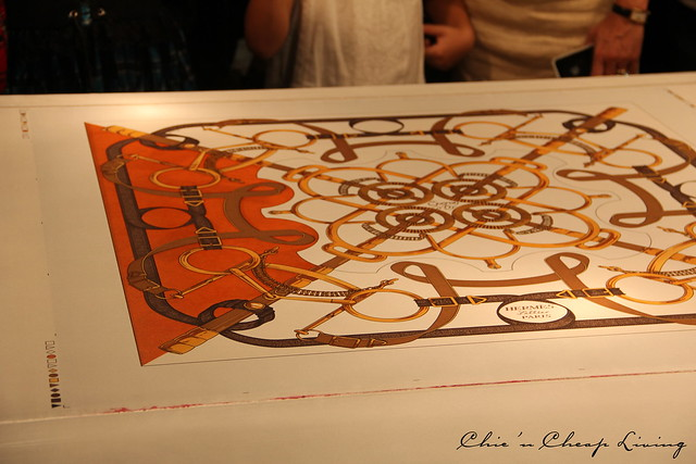 Hermes Festival des Metiers - making a scarf 3- by ChicnCheapLiving