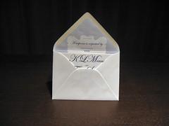 Letterpress Invite w/ RSVP Liner