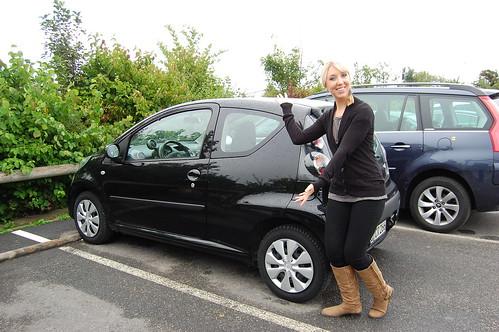 Tiny car!