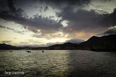 Atardecer desde la isleta (jorgeizquierdo.es) Tags: españa beach spain nikon playa paisaje jorge almería cabodegatanijar d7000