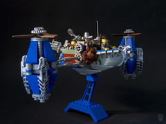 Arabella 07 (porschecm2) Tags: boat flying ship lego arabella airship british steampunk