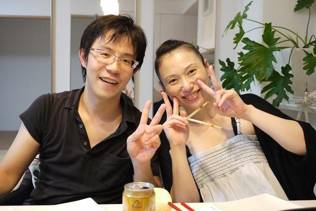 在澳洲和日本都很照顧我Dai Okamoto 和Reiko Okamoto!!!!
