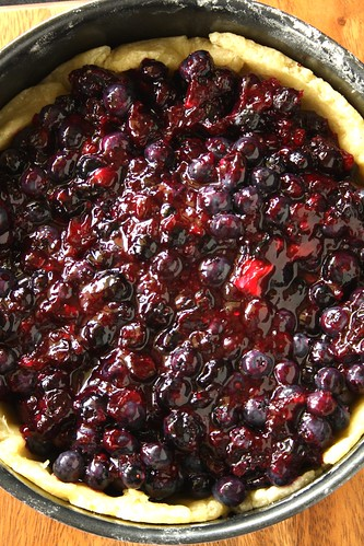 Blueberry Pie From Hell