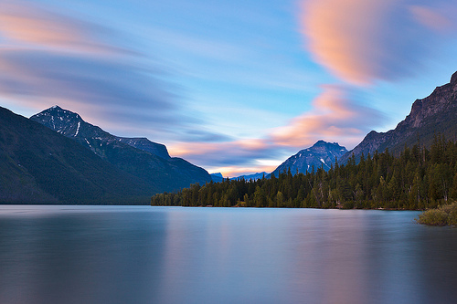 149 Seconds of Sunset, Lake McDonald, Glacier National Park