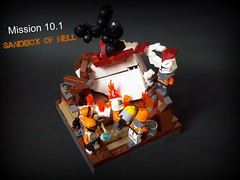 Mission 10.1 (Mandalore the not so great) Tags: black star lego smoke great spice hell 101 corps pixel axe mission wars sandbox aa cannons laat creb geonosis mandalore foitsop 457th 707th