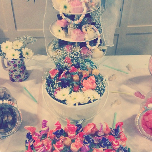 vintage lollies and cakes