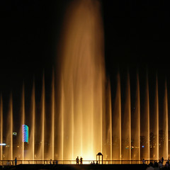 Shanghai - Fountains (cnmark) Tags: world china light people motion blur fountain night square geotagged fun noche movement shanghai expo nacht lifestyle celebration entertainment noite tall nightlife   visitors nuit notte 2010 nachtaufnahme tallest allrightsreserved oltusfotos  doublyniceshot doubleniceshot tripleniceshot mygearandme mygearandmepremium mygearandmebronze mygearandmesilver mygearandmegold mygearandmeplatinum mygearandmediamond  artistoftheyearlevel3 artistoftheyearlevel4 artistoftheyearlevel5 4timesasnice 6timesasnice 5timesasnice geo:lat=3119149478684106 geo:lon=12148675486871718 7timesasnice
