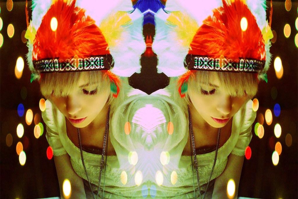 mirror image headdress