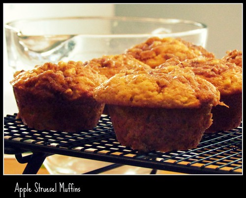 My first time making muffins from scratch - I usually use a mix.  They are really good, too!!!
