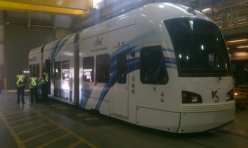 Wonder what a #TempeStreetcar might look like? Check this bad boy out. #RailLife