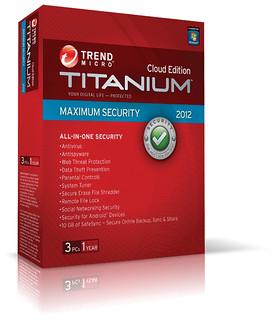 Trend Micro Titanium Cloud Edition Maximum Security 2012