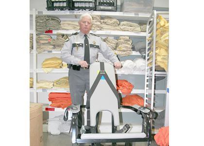 """Restraint Chair will be used as a punishment for Inmates who """"cause problems."""""""
