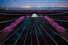 Drawn In (AndWhyNot) Tags: light lightpainting wheel painting long exposure secret expose dome domes tutorial spirograph 3814