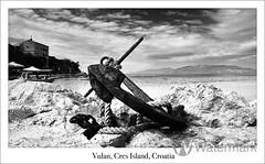 Anchored (rikl64) Tags: white black landscape island nikon croatia anchor seashore cres vulan d700