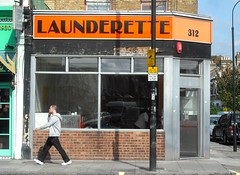 Shepherd's Bush (Flamenco Sun) Tags: city uk england urban london britain capital hammersmith laundry laundromat washing launderette shepherdsbush urbanlandscape londoner londonist washerteria