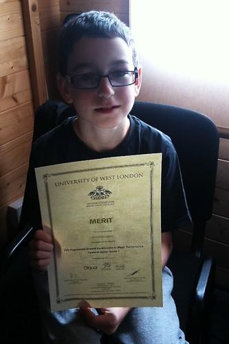 Grade 1 guitar certificate