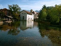 Annecy (dubus regis) Tags: france annecy olympus reflet e3 savoie ville haute urbain 1260 teflection mygearandme