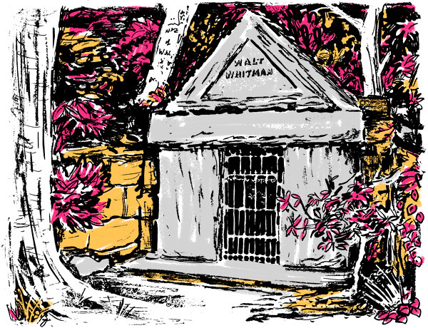"Whitman""s mausoleum"