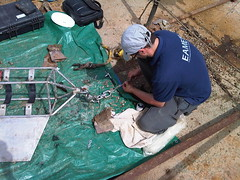 Installing Oceanographic Equipment, Persian Gulf