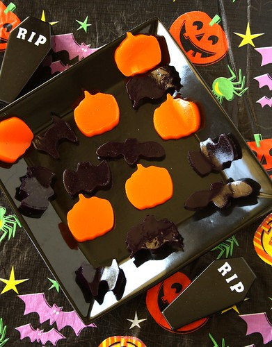 Taste of  Home's Halloween Gelatin Cutouts