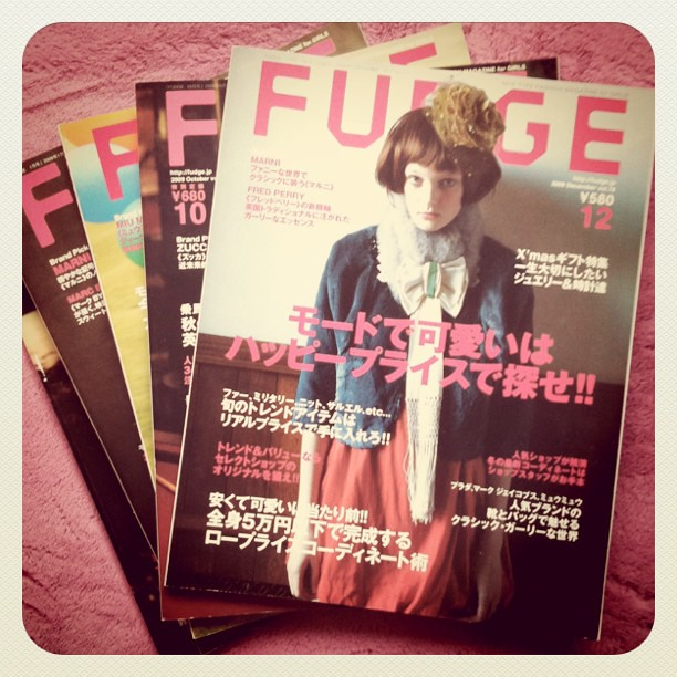 Back issues of Fudge.