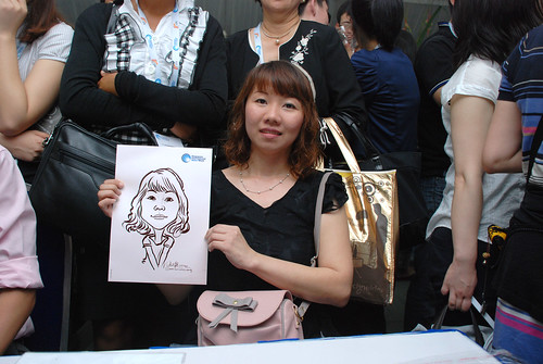 caricature live sketching for Singapore International Water Week Closing Dinner - 29