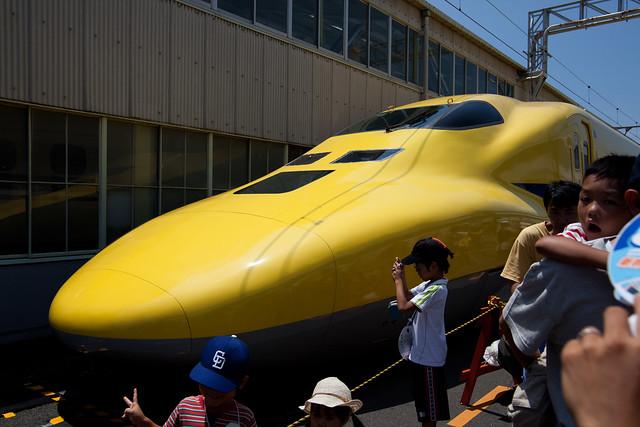 ドクターイエロー - 新幹線なるほど発見デー2011