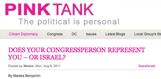 CodePink Demonizes Jews7