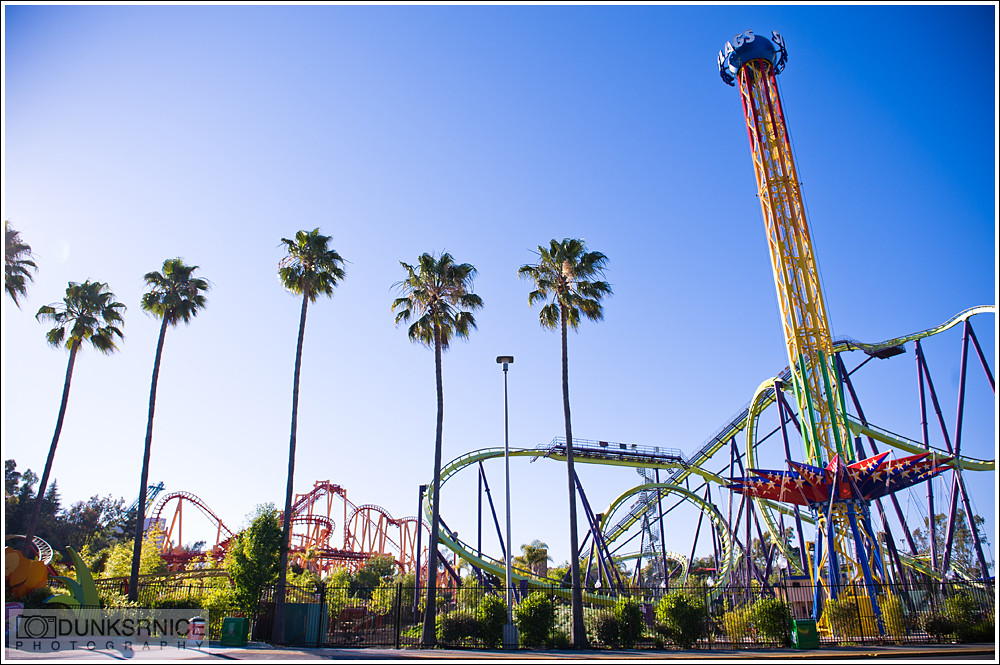 Six Flags Discovery Kingdom.
