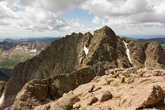 Mount Aeolus (jabossert) Tags: travel summer vacation mountain nature canon outdoors colorado hiking climbing backpacking mountaineering fourteener durango catwalk chicagobasin knifeedge aeolus sanjuanwilderness eolus
