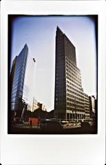 Potsdamer Platz (Berlin) (Instax) (II) (manuela.martin) Tags: berlin germany deutschland lomo fuji lomolca potsdamerplatz instax fujiinstaxmini instantback