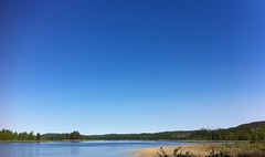 Blue heaven (TinaOo) Tags: river heaven sweden fotosondag fs110814 negut