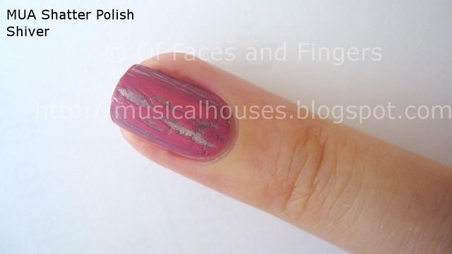 MUA Nail Quake Shiver Shatter Polish