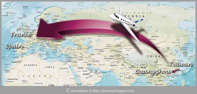 出走異鄉 → 2011 法國、西班牙 自助旅行規劃 旅行誌-02