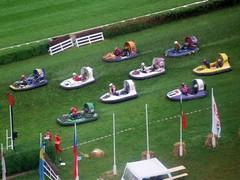 Startaufstellung Hovercraft-Rennen (EM 2002)